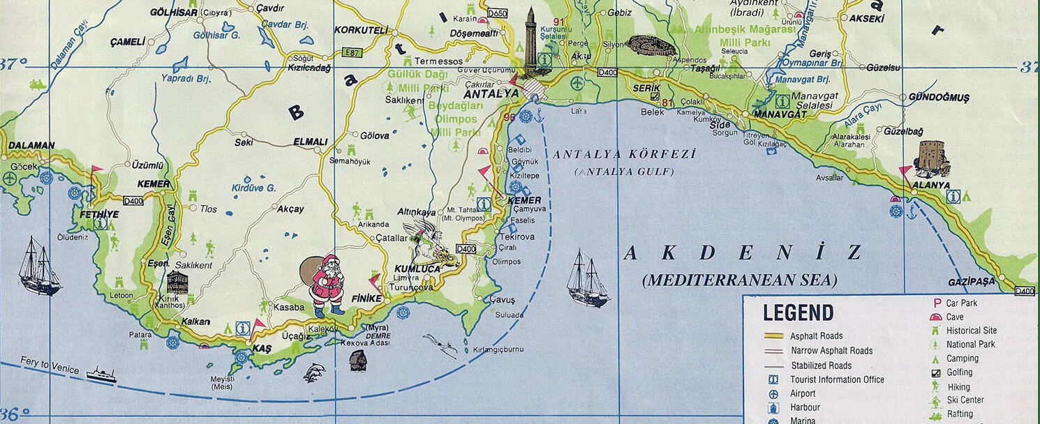 turkeymap_antalyaregion